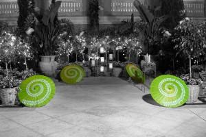 Ritz Carlton and Paper Umbrellas