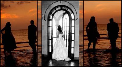 Siesta Key Wedding scene